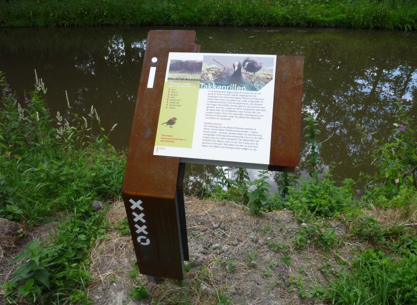 Informatieborden Natuurvriendelijke routes
